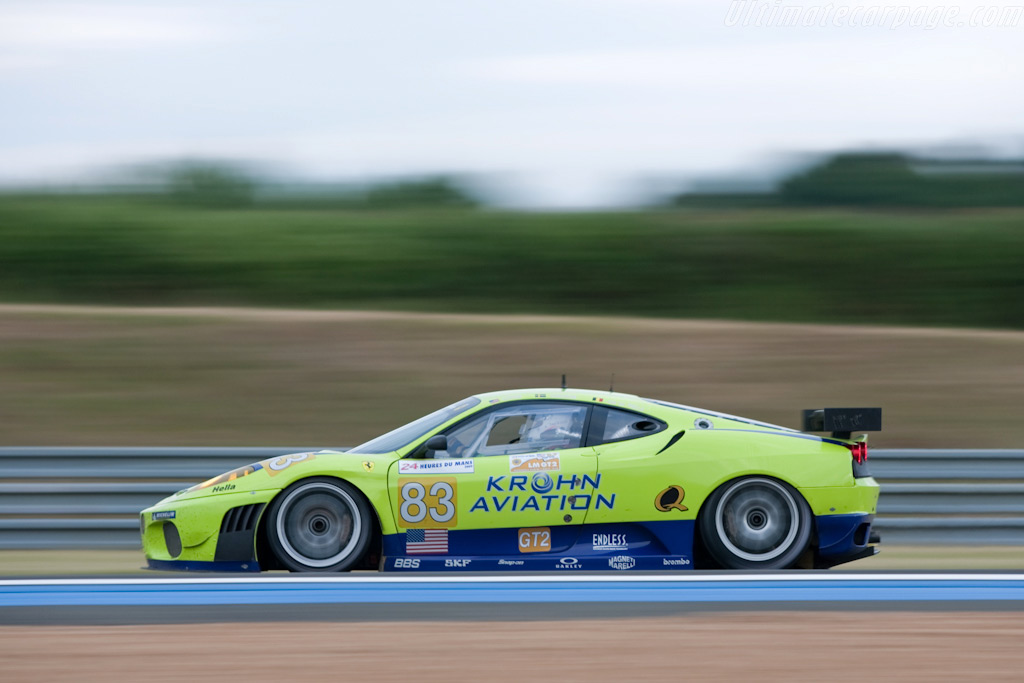 Different shades of green and blue - Chassis: 2656   - 2009 24 Hours of Le Mans