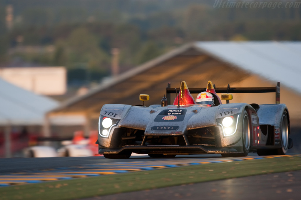Dirt and grime - Chassis: 105   - 2009 24 Hours of Le Mans