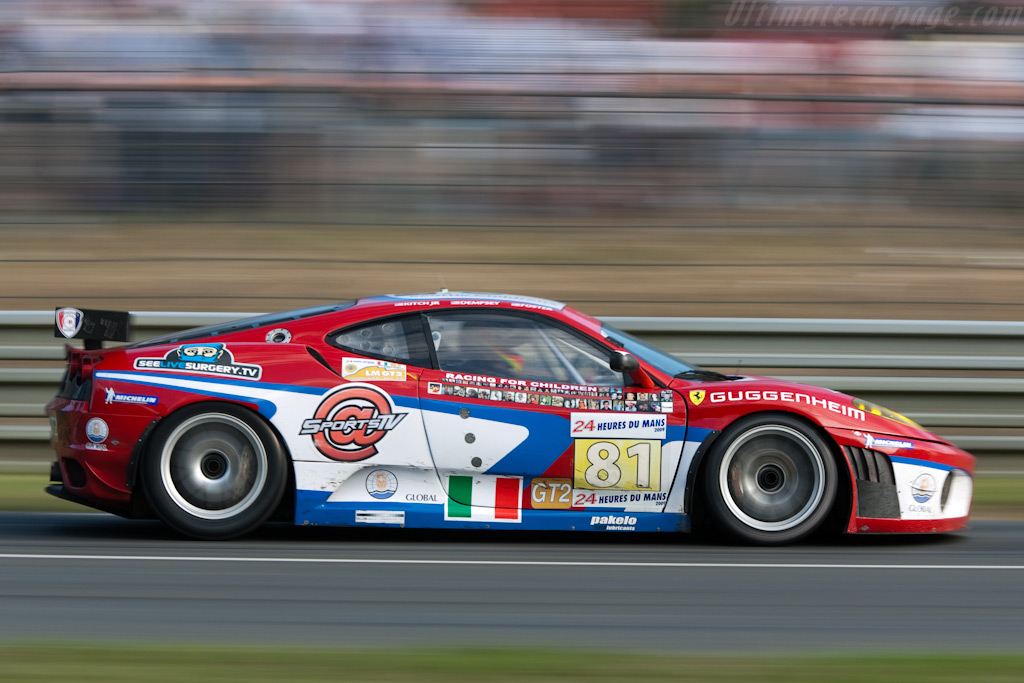 Dr. McDreamy's Ferrari - Chassis: 2446   - 2009 24 Hours of Le Mans