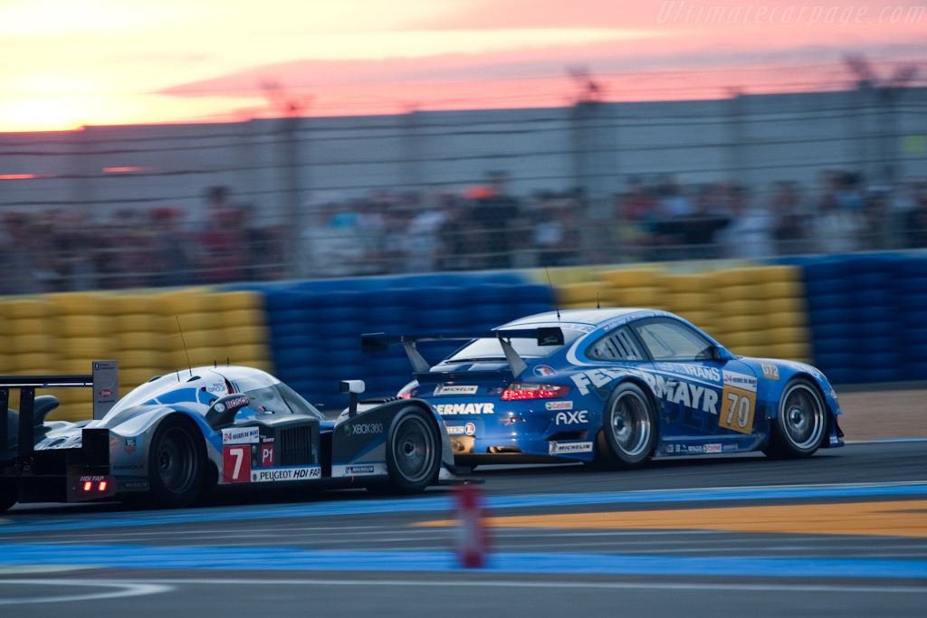 Fastest versus the slowest classes - Chassis: 908-04   - 2009 24 Hours of Le Mans