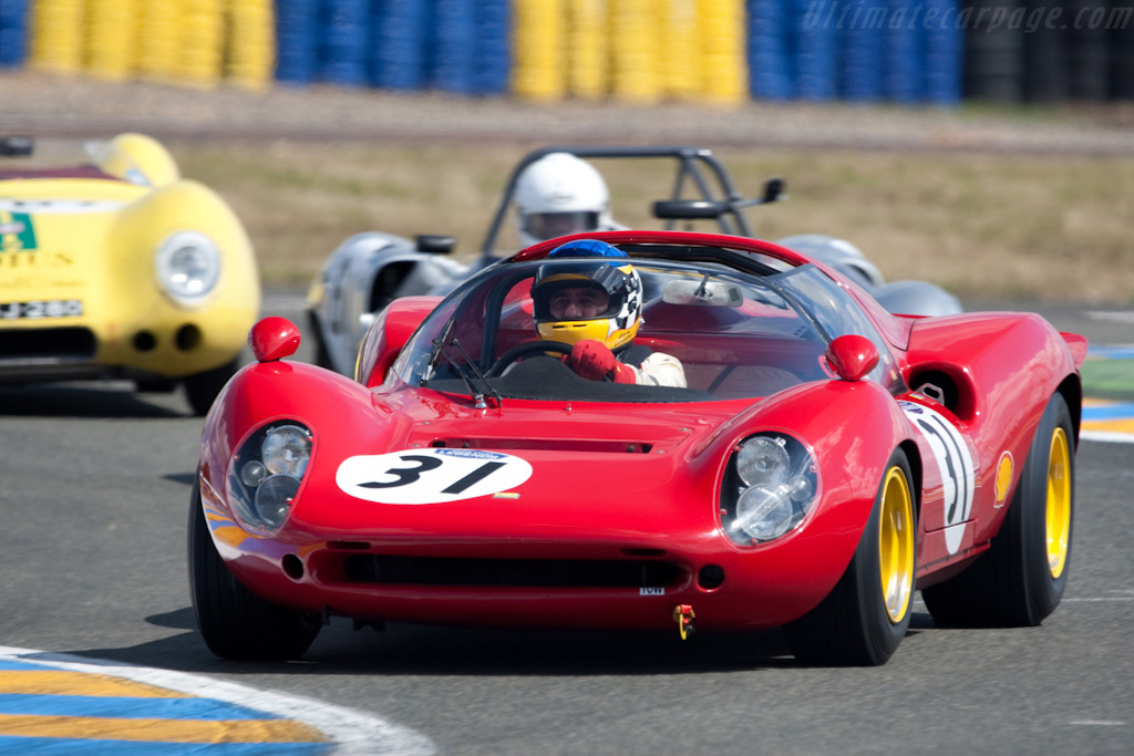 Ferrari 206 P - Chassis: 0834   - 2009 24 Hours of Le Mans