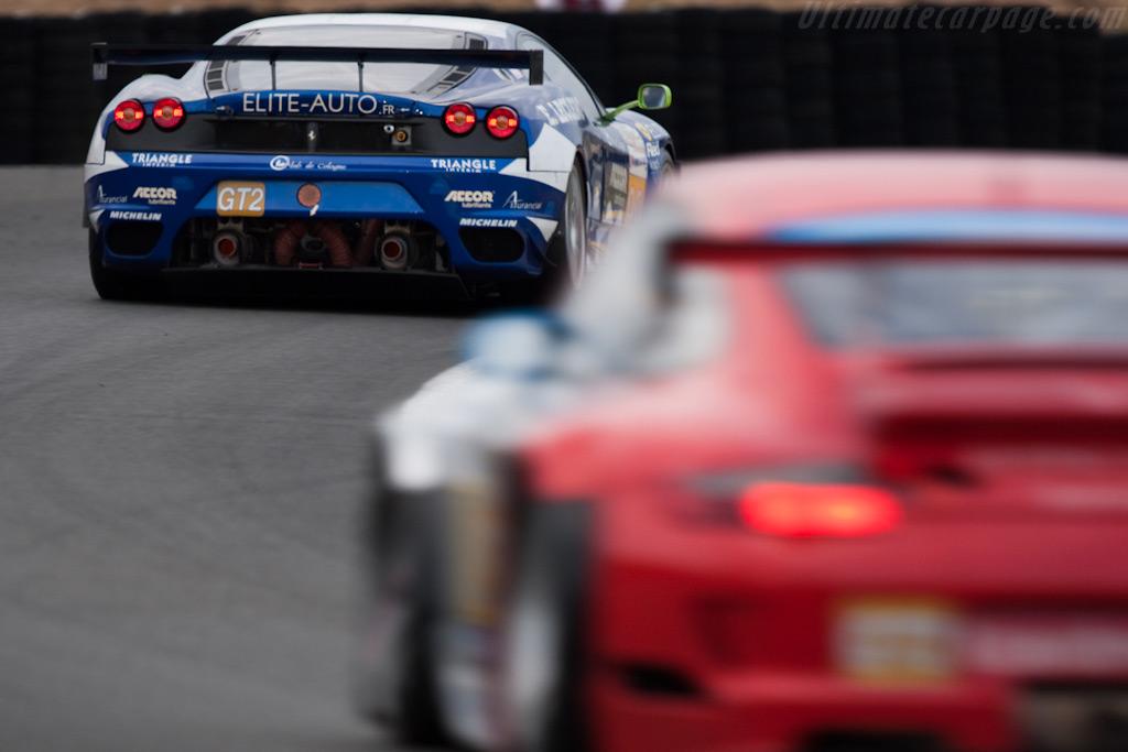 Ferrari vs Porsche - Chassis: 2466   - 2009 24 Hours of Le Mans