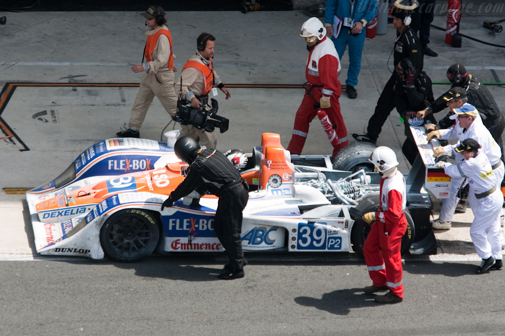 Fired - Chassis: B0540-HU07   - 2009 24 Hours of Le Mans