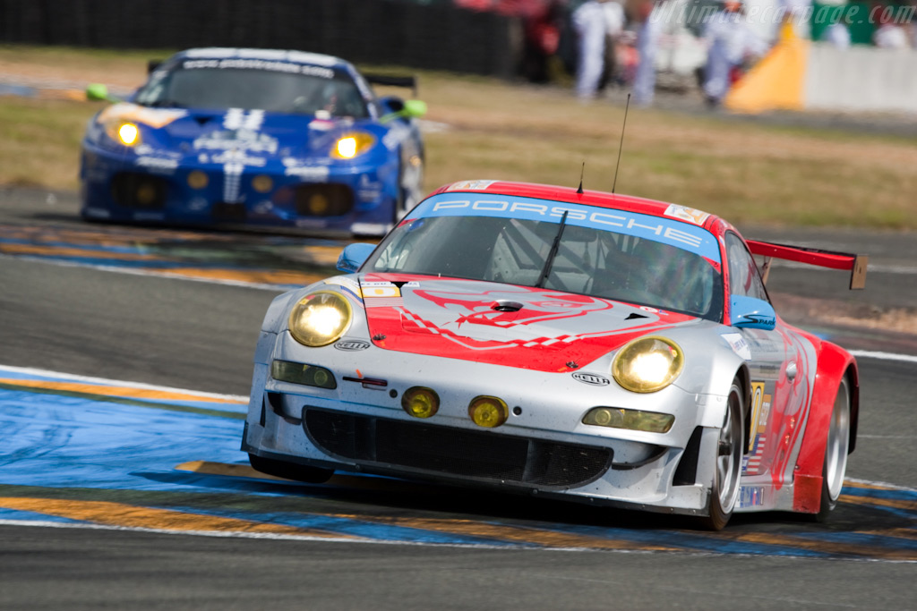 Flying Flying Lizard - Chassis: WP0ZZZ99Z9S799913   - 2009 24 Hours of Le Mans