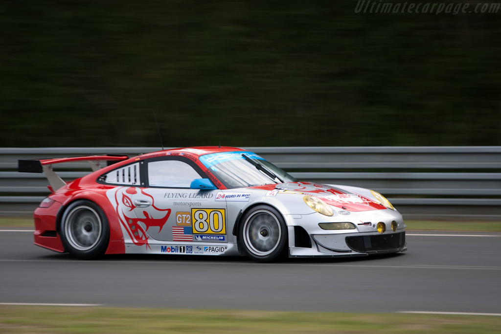Flying Lizard topped them all - Chassis: WP0ZZZ99Z9S799913   - 2009 24 Hours of Le Mans
