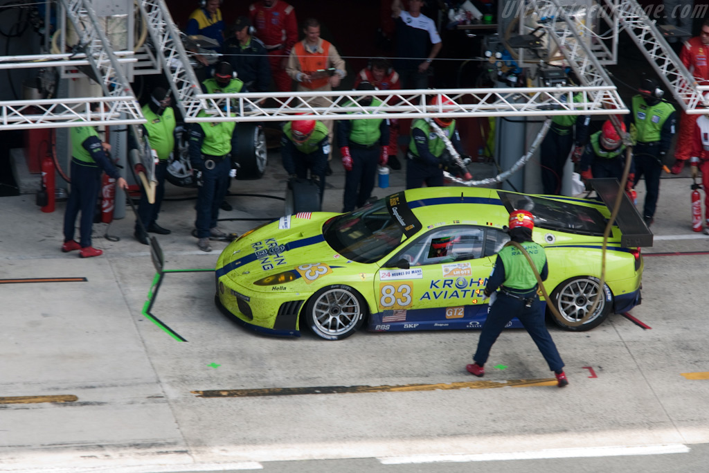Fuel and tyres - Chassis: 2656   - 2009 24 Hours of Le Mans