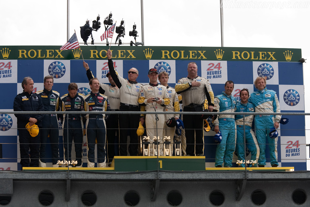 GT1 Podium    - 2009 24 Hours of Le Mans