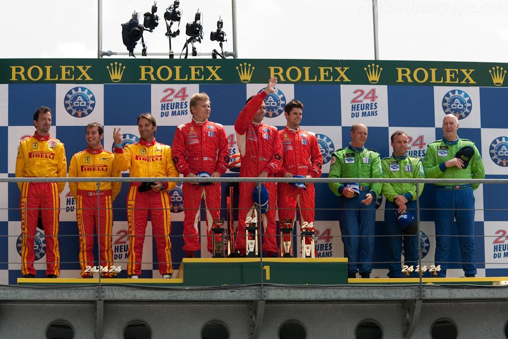 GT2 Podium    - 2009 24 Hours of Le Mans