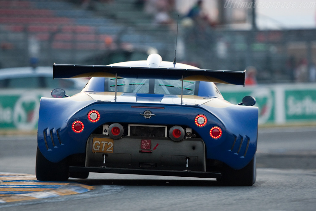 Glowing pipes - Chassis: 2636   - 2009 24 Hours of Le Mans