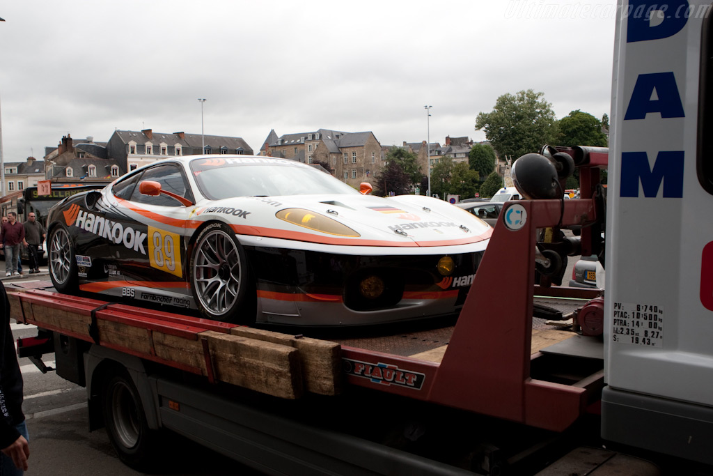 Hankook Ferrari in downtown Le Mans - Chassis: 2608   - 2009 24 Hours of Le Mans