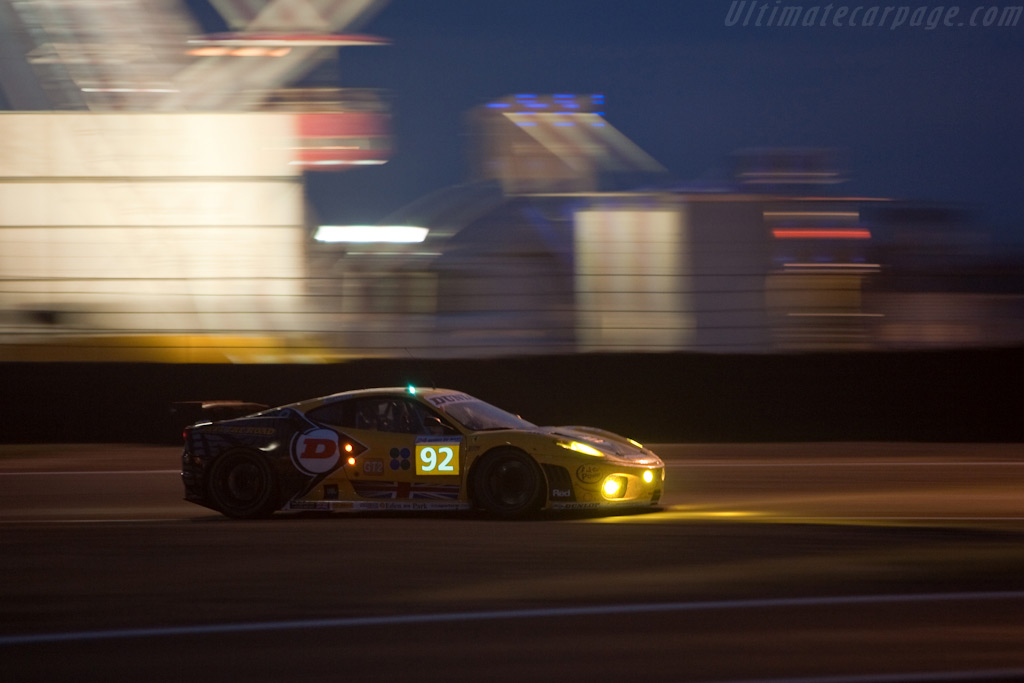 JMW Ferrari - Chassis: 2408   - 2009 24 Hours of Le Mans