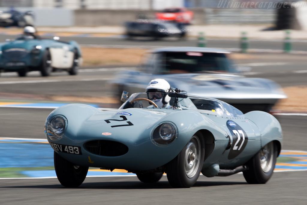 Jaguar D-Type - Chassis: XKD 535   - 2009 24 Hours of Le Mans