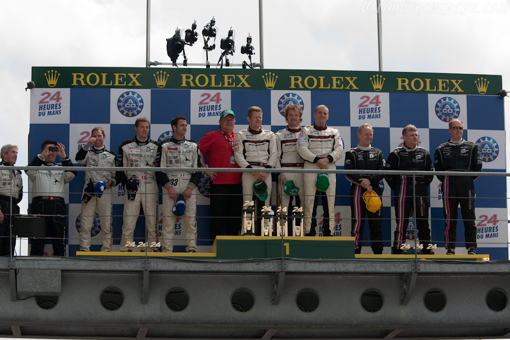 LMP2 Podium    - 2009 24 Hours of Le Mans