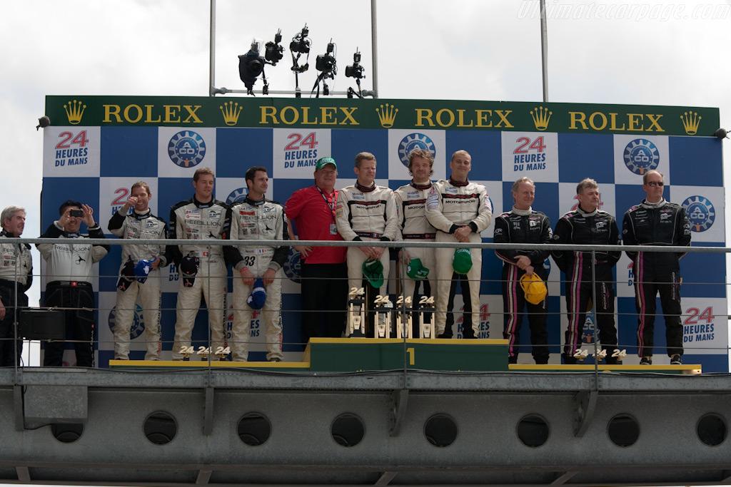 LMP2 Podium    - 2009 24 Hours of Le Mans