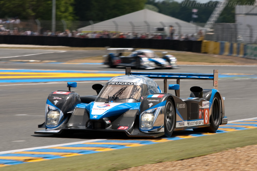 Leaders - Chassis: 908-07   - 2009 24 Hours of Le Mans