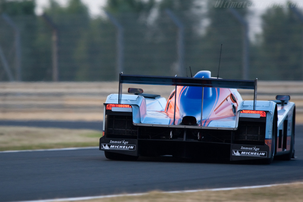 Lola-Aston at the Porsche Curves - Chassis: B0960-HU02   - 2009 24 Hours of Le Mans