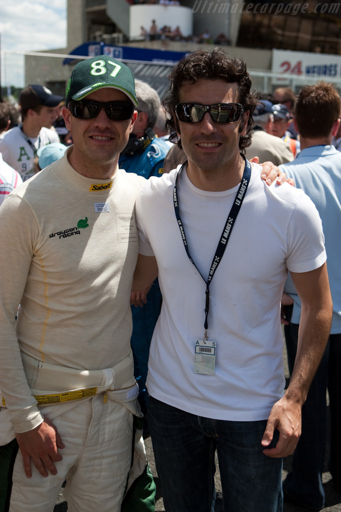 Marino and Dario Franchitti    - 2009 24 Hours of Le Mans