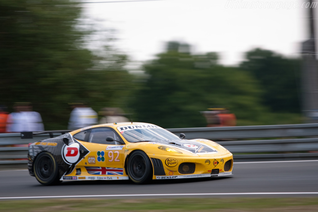 New livery for the JMW Ferrari - Chassis: 2408   - 2009 24 Hours of Le Mans