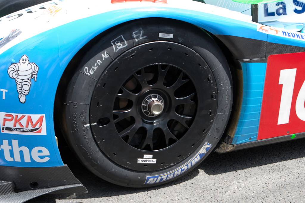 New low-drag wheels for Pescarolo - Chassis: 01-08   - 2009 24 Hours of Le Mans