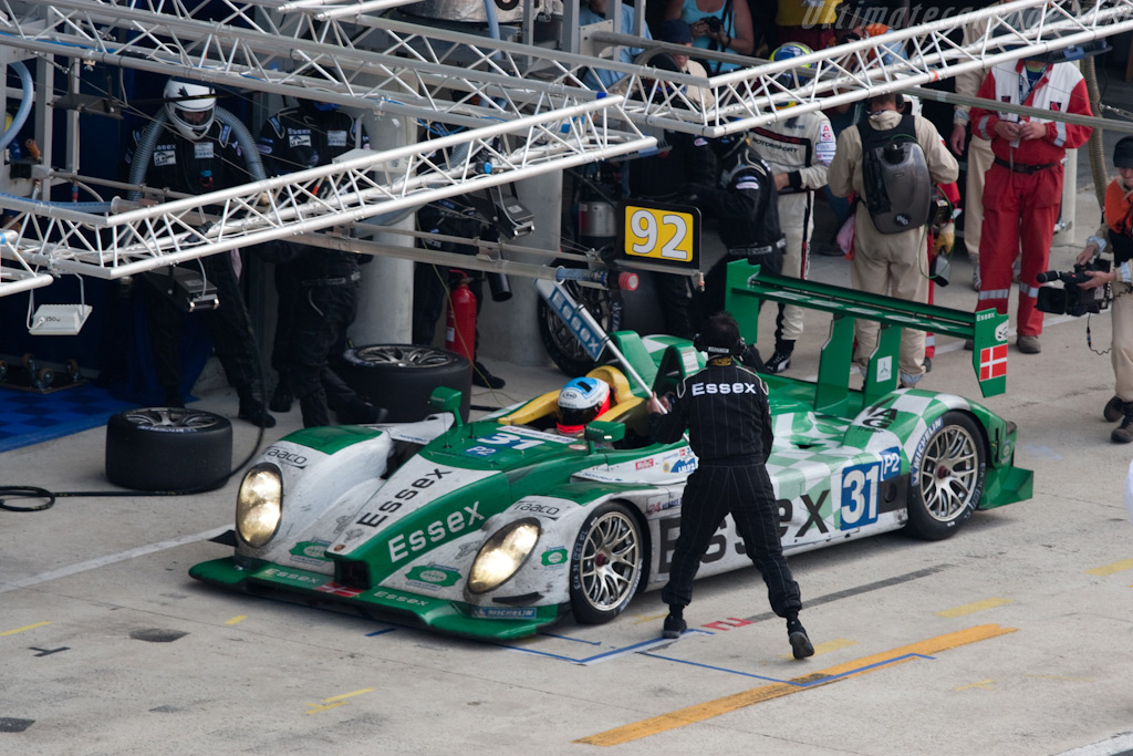 Off he goes - Chassis: 9R6 709   - 2009 24 Hours of Le Mans
