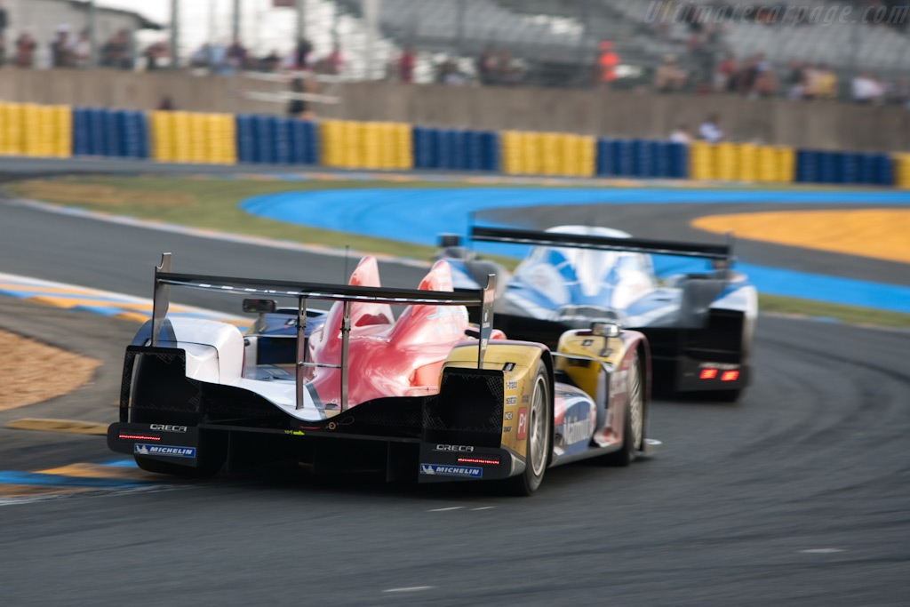 Oreca and Peugeot - Chassis: 02   - 2009 24 Hours of Le Mans