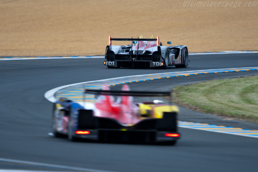Oreca chasing an Audi - Chassis: 105   - 2009 24 Hours of Le Mans