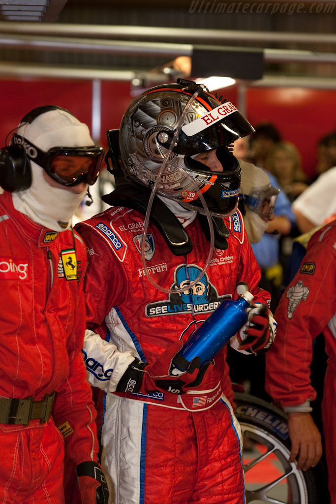 Patrick 'Dr McDreamy' Dempsey    - 2009 24 Hours of Le Mans