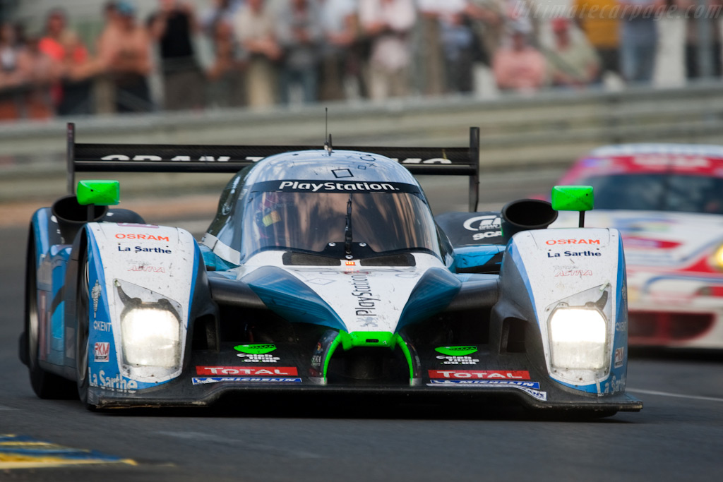 Pesca's Peugeot at Indianapolis - Chassis: 908-03   - 2009 24 Hours of Le Mans