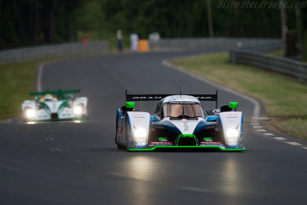 Pesca's Peugeot was right up there - Chassis: 908-03   - 2009 24 Hours of Le Mans