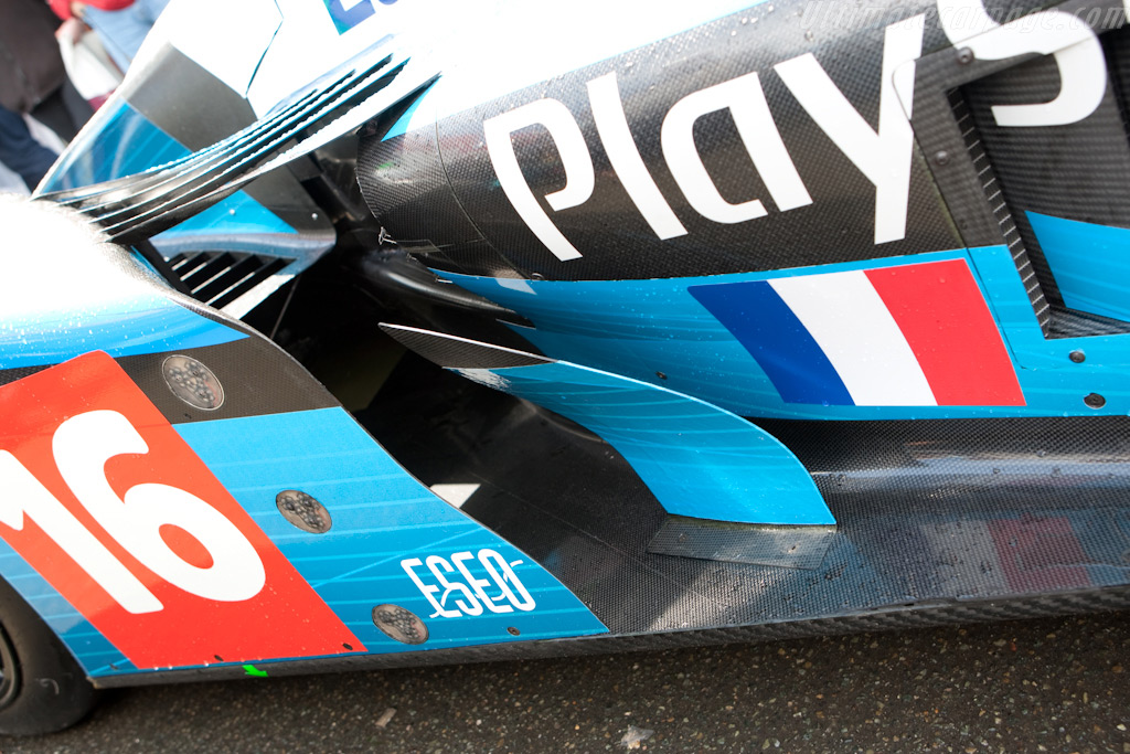 Pesca's new livery - Chassis: 01-08   - 2009 24 Hours of Le Mans