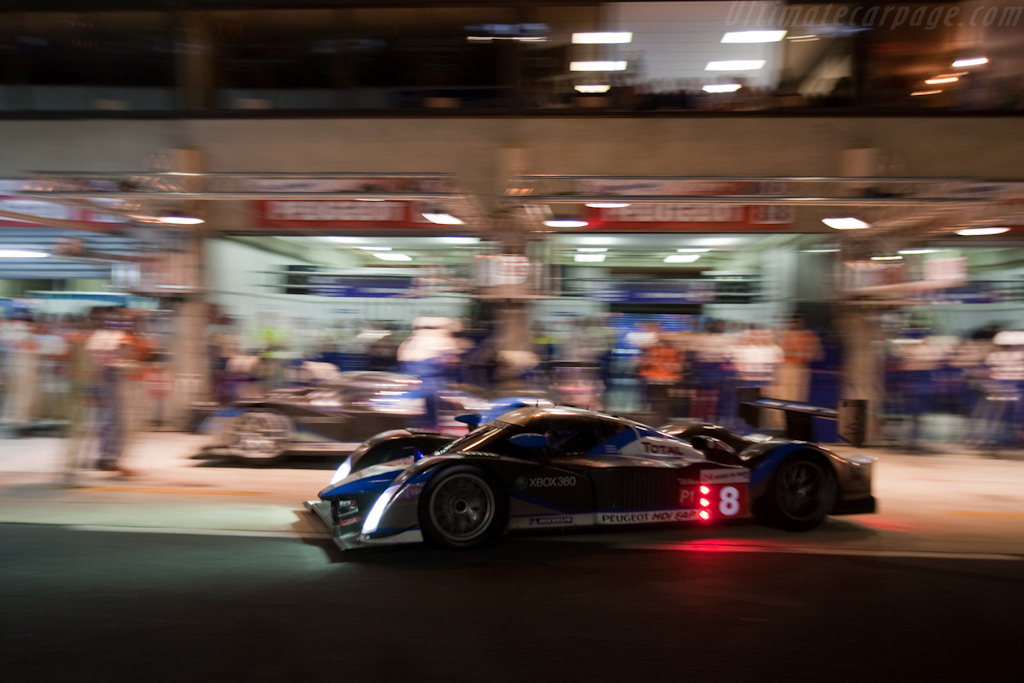 Peugeots - Chassis: 908-07   - 2009 24 Hours of Le Mans