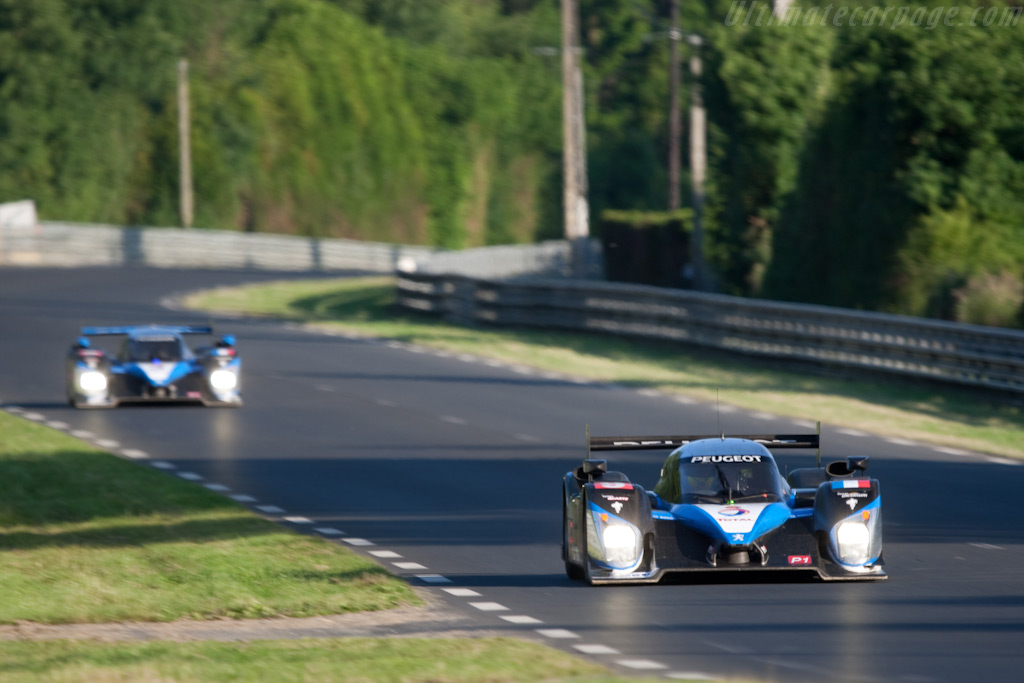 Peugeots - Chassis: 908-06   - 2009 24 Hours of Le Mans