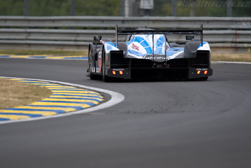 Pole-sitting Peugeot - Chassis: 908-06   - 2009 24 Hours of Le Mans