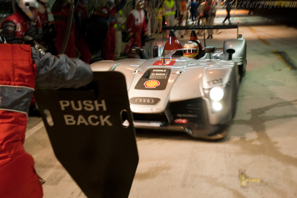 Porsche's Timo Bernhard in the #3 Audi - Chassis: 101   - 2009 24 Hours of Le Mans