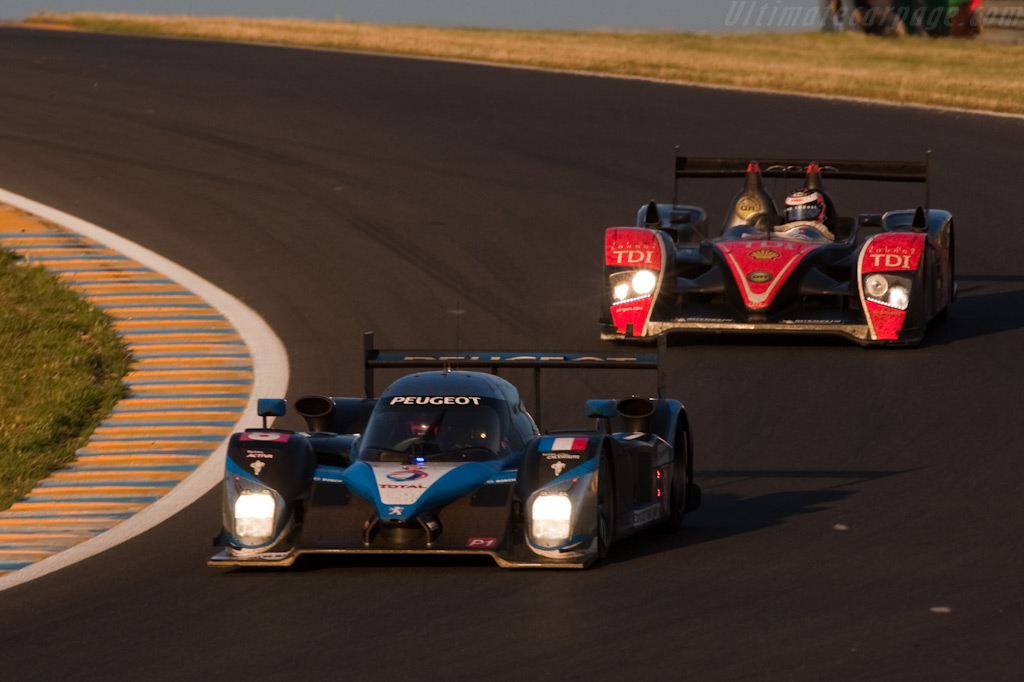 Rivals of old - Chassis: 908-07   - 2009 24 Hours of Le Mans