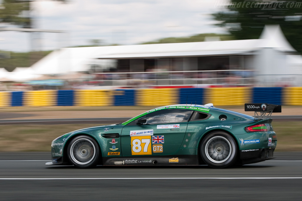 Rumbling Vantage - Chassis: GT2/002   - 2009 24 Hours of Le Mans