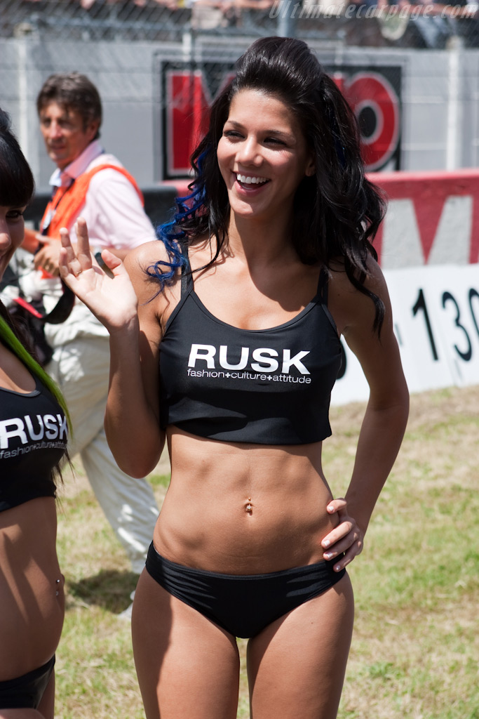 Rusk promo girl    - 2009 24 Hours of Le Mans