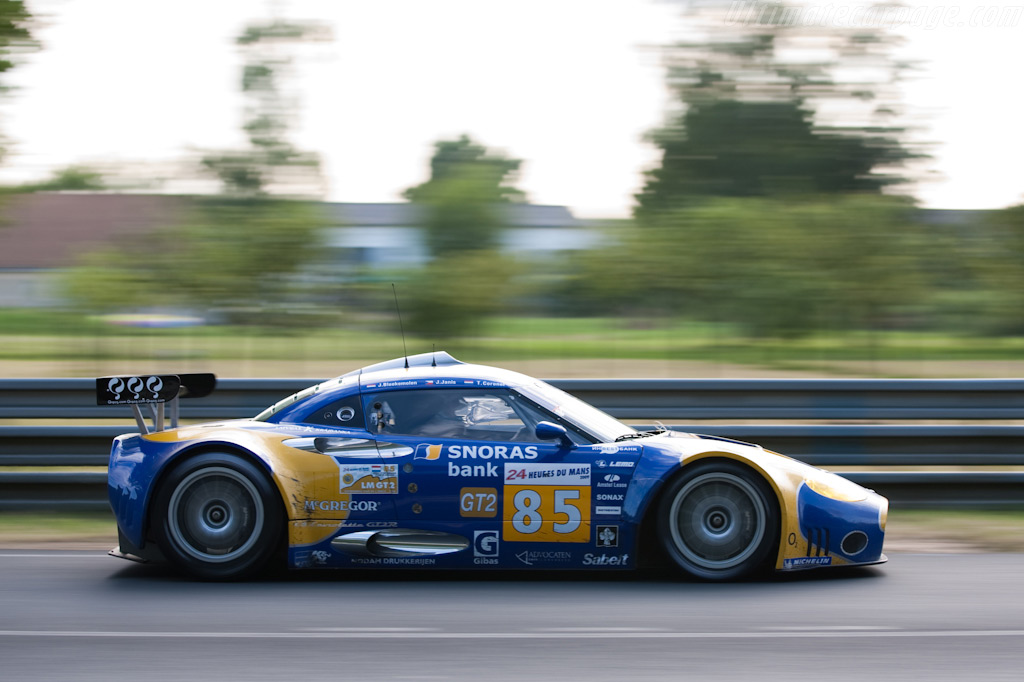 Spyker running strong - Chassis: XL9AB01G37Z363190   - 2009 24 Hours of Le Mans