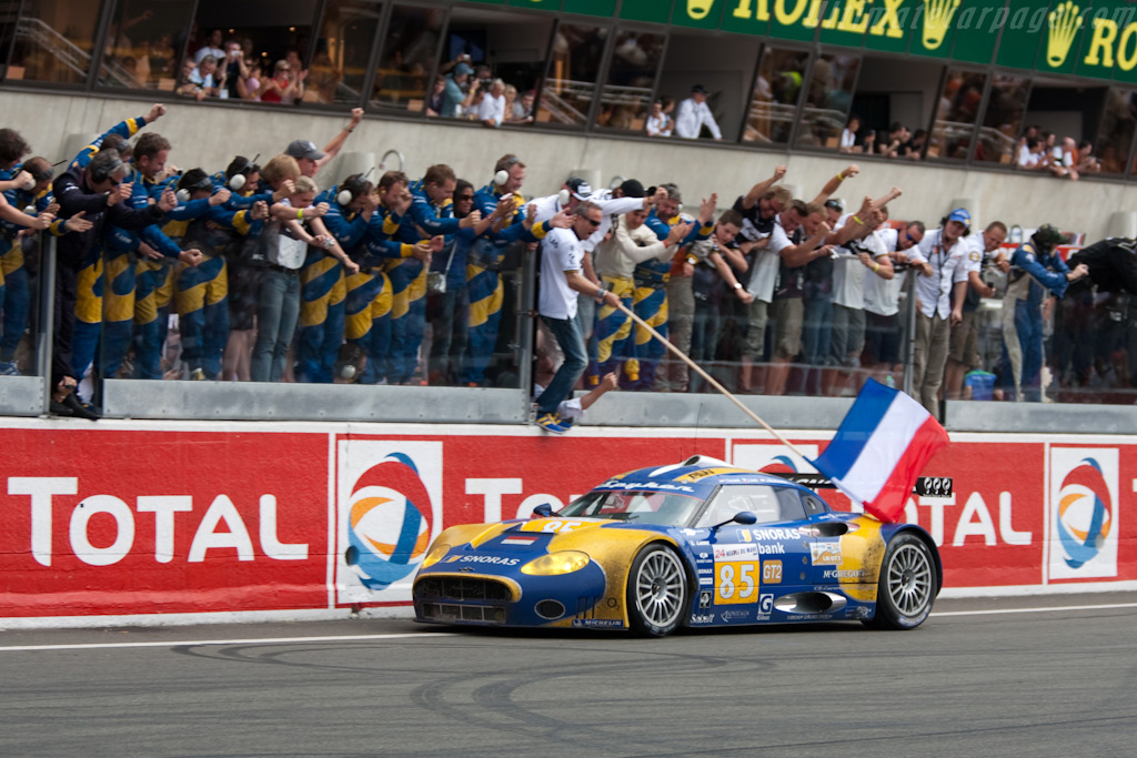 Spyker's first finish - Chassis: XL9AB01G37Z363190   - 2009 24 Hours of Le Mans