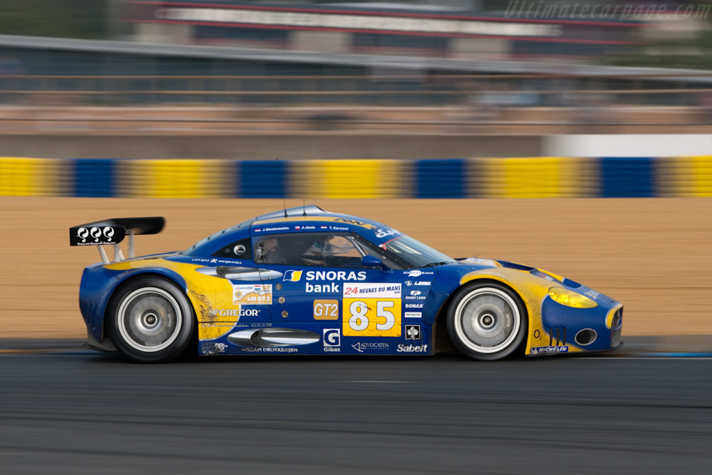 Spyker still running - Chassis: XL9AB01G37Z363190   - 2009 24 Hours of Le Mans