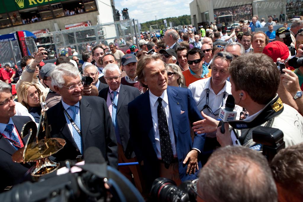 Starter Luca de Montezemolo    - 2009 24 Hours of Le Mans