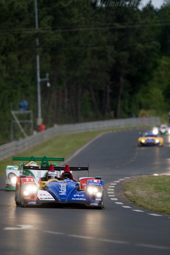 Striking liveries - Chassis: 02   - 2009 24 Hours of Le Mans