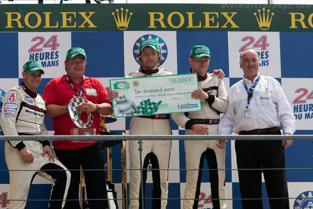 Team Essex won the Michelin Green X Challenge - Chassis: 9R6 709   - 2009 24 Hours of Le Mans