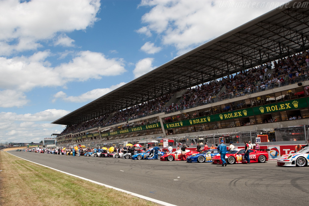 The 'Le Mans Start' - Chassis: 2616   - 2009 24 Hours of Le Mans