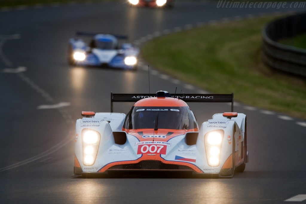 The Czech Lola-Aston - Chassis: B0960-HU02   - 2009 24 Hours of Le Mans