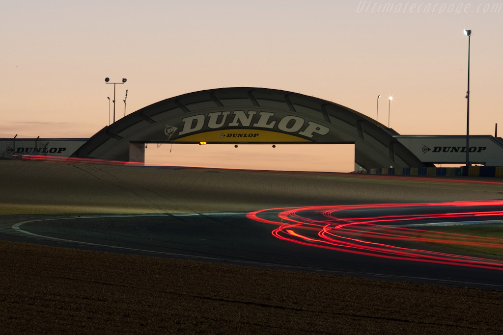 The Dunlop bridge    - 2009 24 Hours of Le Mans