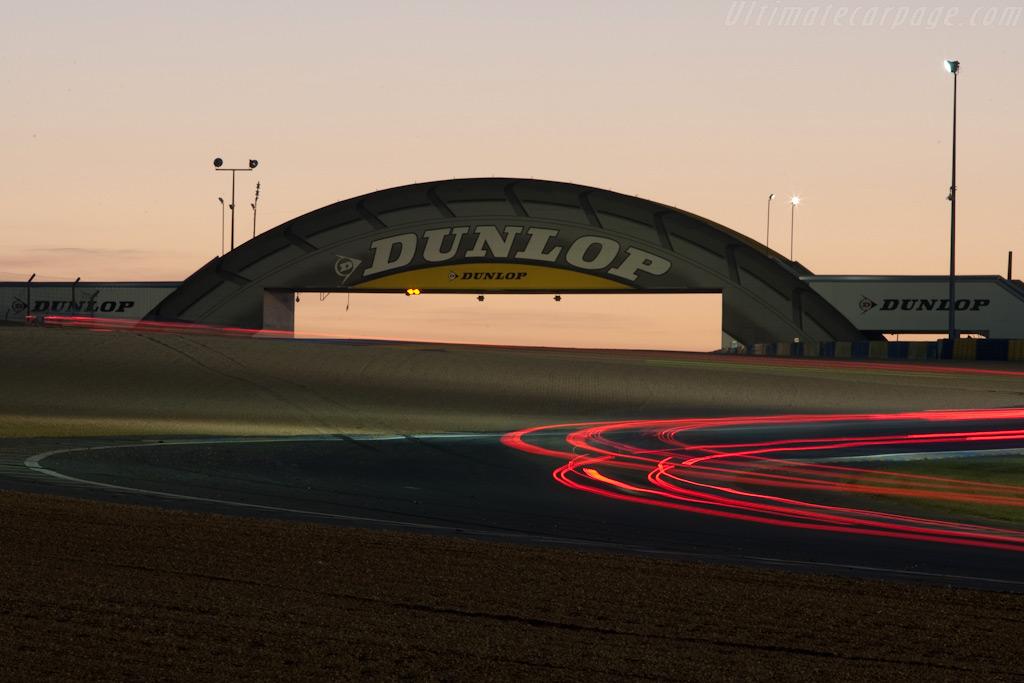 The Dunlop bridge    - 2009 24 Hours of Le Mans
