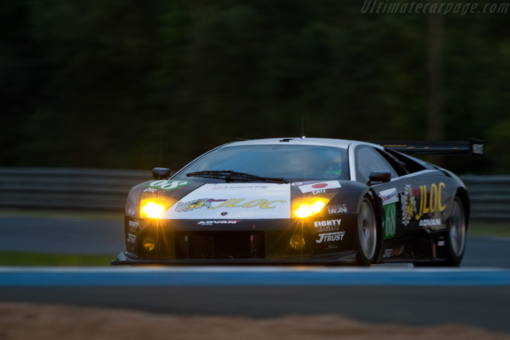 The JLOC Lambo made it out onto the track - Chassis: LA01063   - 2009 24 Hours of Le Mans