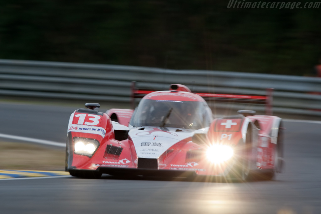 The Lola Lola-Aston - Chassis: B0860-HU01   - 2009 24 Hours of Le Mans