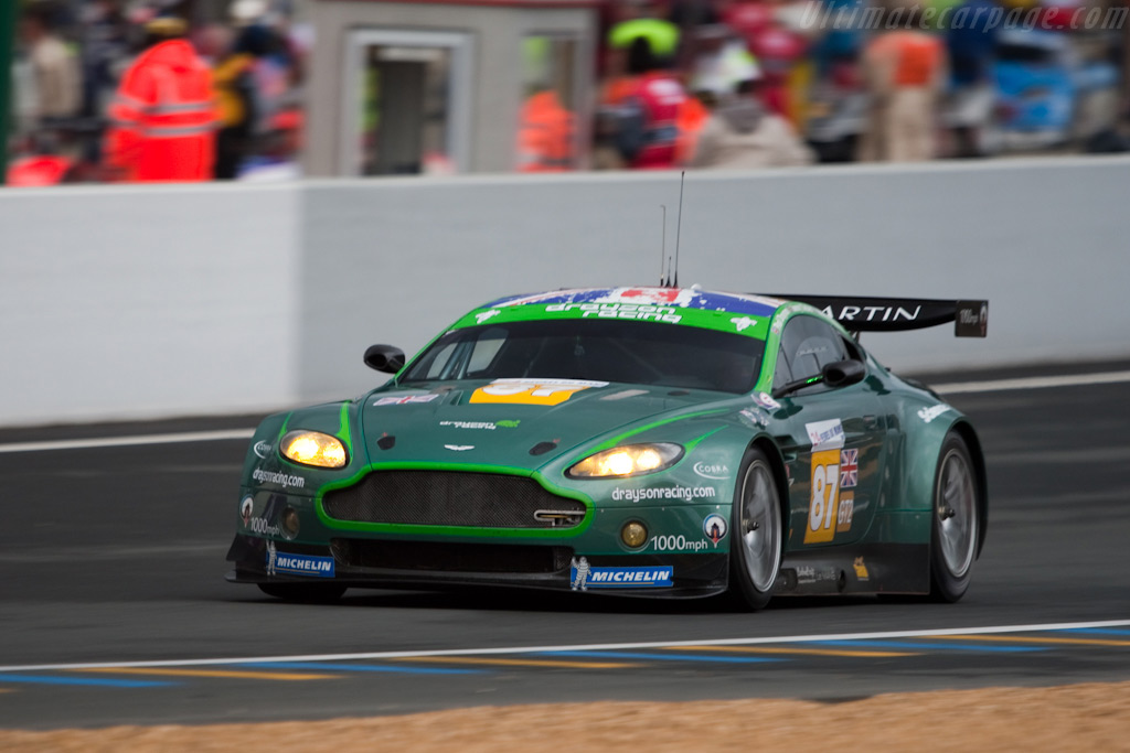 The V8 Vantage's Le Mans debut - Chassis: GT2/002   - 2009 24 Hours of Le Mans